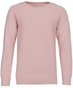 Women's Barbour Sailboat Knit Sweater - Pale Coral
