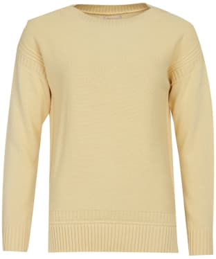 Women's Barbour Sailboat Knit Sweater - Primrose Yellow