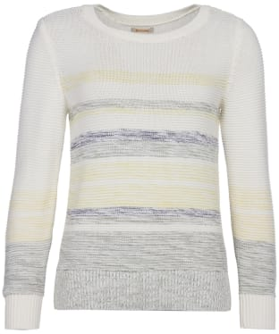 Women's Barbour Littlehampton Knit Sweater - Off White