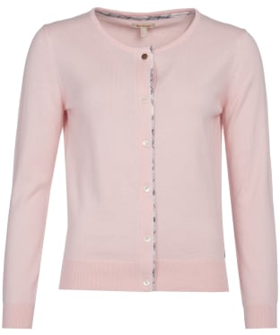 Women's Barbour Bredon Knit Sweater - Pale Coral