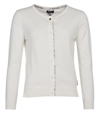 Women's Barbour Bredon Knit Sweater - Off White