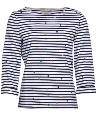 Women's Barbour x Emma Bridgewater Spot Top - Off White