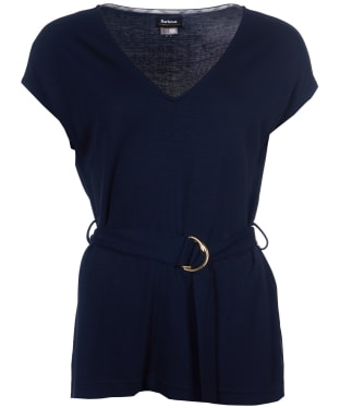 Women's Barbour Heriot Top - Navy
