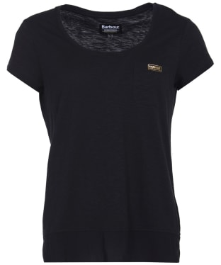 Women's Barbour International Fullcourt Top - Black