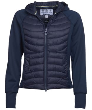 Women's Barbour Pier Sweater Jacket - Navy