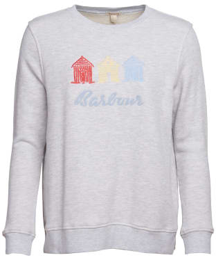 Women's Barbour Boardwalk Sweatshirt - Pale Grey Marl