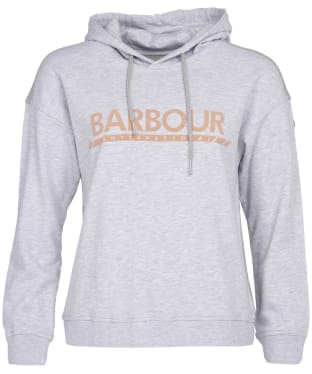 Women's Barbour International Apex Overlayer - Pale Grey Marl
