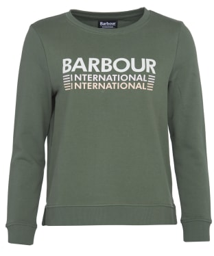Women's Barbour International Trackrace Overlayer - Tussock
