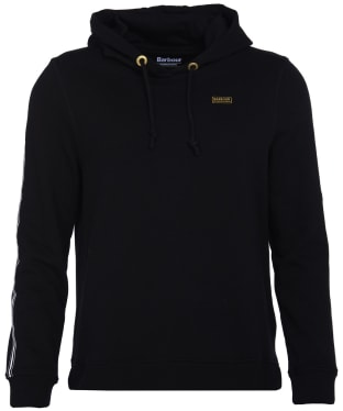 Women's Barbour International Podium Hooded Overlayer - Black