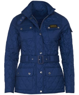 Women's Barbour International Lightweight Quilted Jacket - Jewel Blue