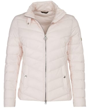 Women's Barbour International Aubern Quilted Jacket - Cameo Pink