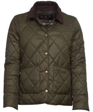 Women's Barbour x Emma Bridgewater Coldstream Quilted Jacket - Sage