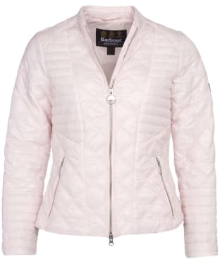 Women's Barbour International Freethrow Quilted Jacket - Cameo Pink