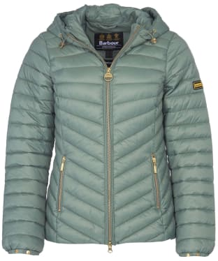 Women's Barbour International Ringside Quilted Jacket - Tussock