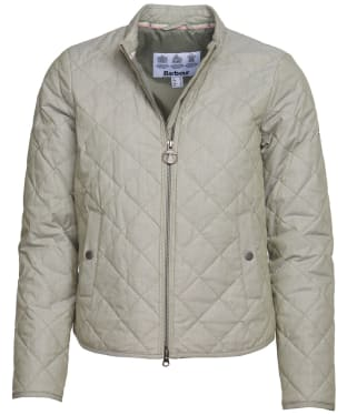Women's Barbour Harbourside Quilted Jacket - Duffle Green