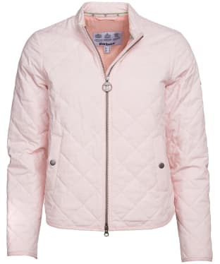 Women's Barbour Harbourside Quilted Jacket - Coral