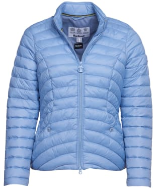 Women's Barbour Shoreward Quilted Jacket - Skyline