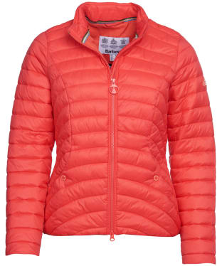 Women's Barbour Shoreward Quilted Jacket - Coral