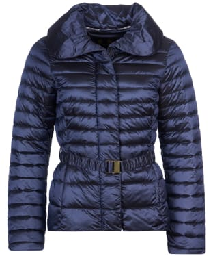 Women's Barbour Borthwick Quilted Jacket - Slate Blue