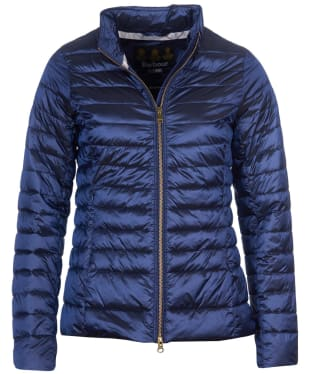 Women's Barbour Baird Quilted Jacket - Royal Navy
