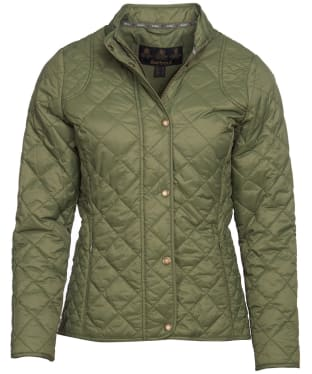 Women's Barbour Elmsworth Quilted Jacket - Laurel