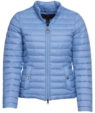 Women's Barbour Layla Packable Quilted Jacket - Skyline
