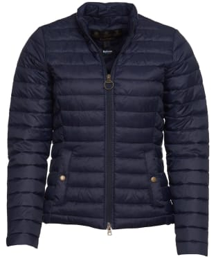 Women's Barbour Layla Packable Quilted Jacket - Navy