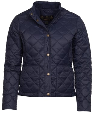 Women's Barbour Rebecca Packable Quilted Jacket - Navy