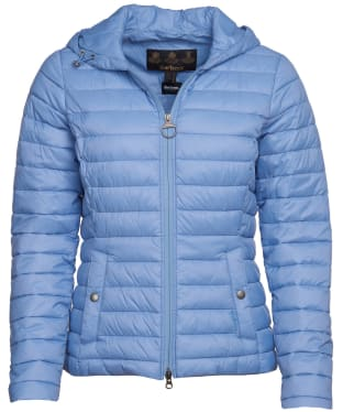 Women's Barbour Orla Packable Quilted Jacket - Skyline