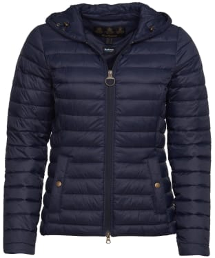 Women's Barbour Orla Packable Quilted Jacket - Navy