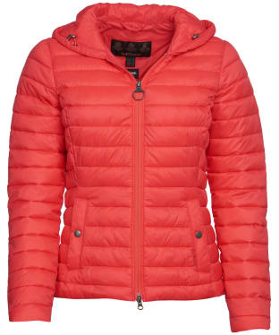 Women's Barbour Orla Packable Quilted Jacket - Coral
