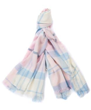 Women's Barbour Freya Wrap - Blossom Tartan