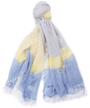 Women's Barbour Whitmore Wrap - Yellow / Blue