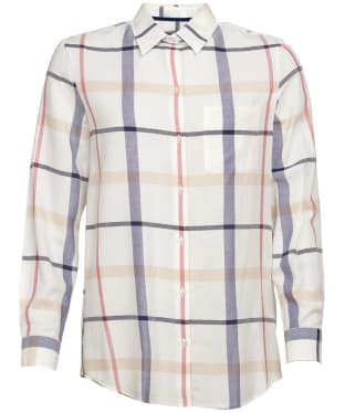Women's Barbour Oxer Check Shirt - Lupin Check