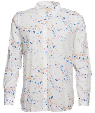 Women's Barbour Waterside Shirt - Off White Print