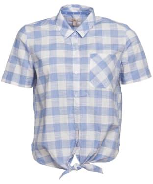 Women's Barbour Pier Shirt - Light Skyline Check