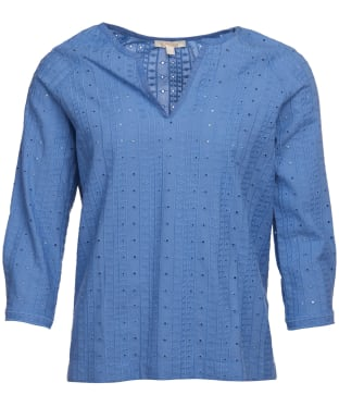 Women's Barbour Overboard Top - Skyline Blue