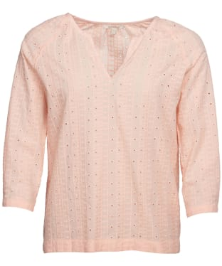 Women's Barbour Overboard Top - Pale Coral
