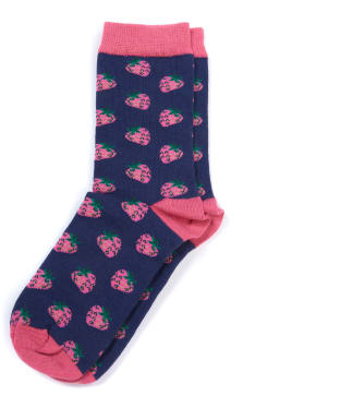 Women's Barbour Strawberry Socks