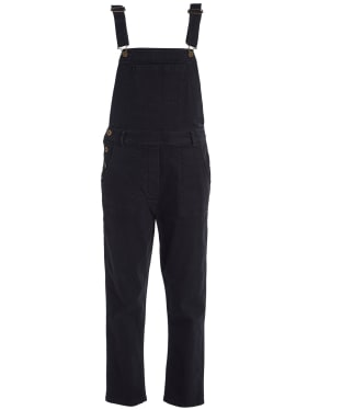 Women's Barbour Maddison Dungaree - Washed Black