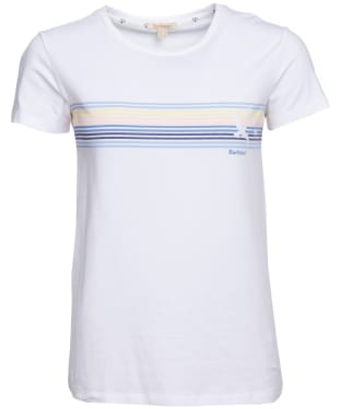 Women's Barbour Harbourside Tee - White