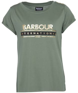 Women's Barbour International Apex Tee - Tussock