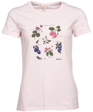Women's Barbour Everly Tee - Rose