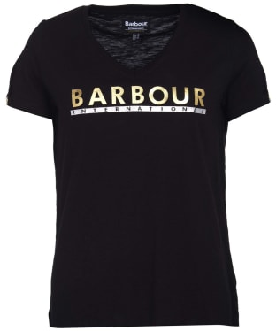 Women's Barbour International Huddle Tee