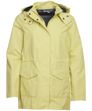 Women's Barbour Deepsea Waterproof Jacket - Sunshine