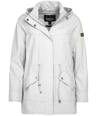 Women's Barbour International Volley Jacket - Ice White
