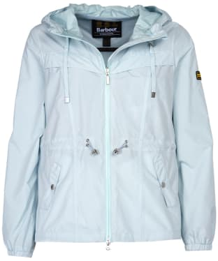Women's Barbour International Hold Jacket - Opal Marl
