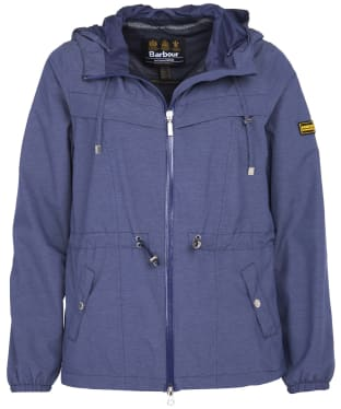 Women's Barbour International Hold Jacket - Sapphire Marl