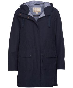 Women's Barbour Ava Waterproof Jacket - Navy