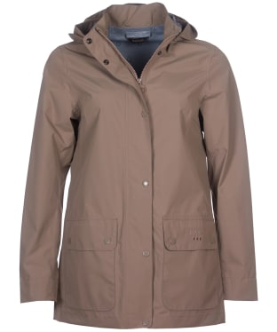 Women's Barbour Fourwinds Waterproof Jacket - Soft Gold